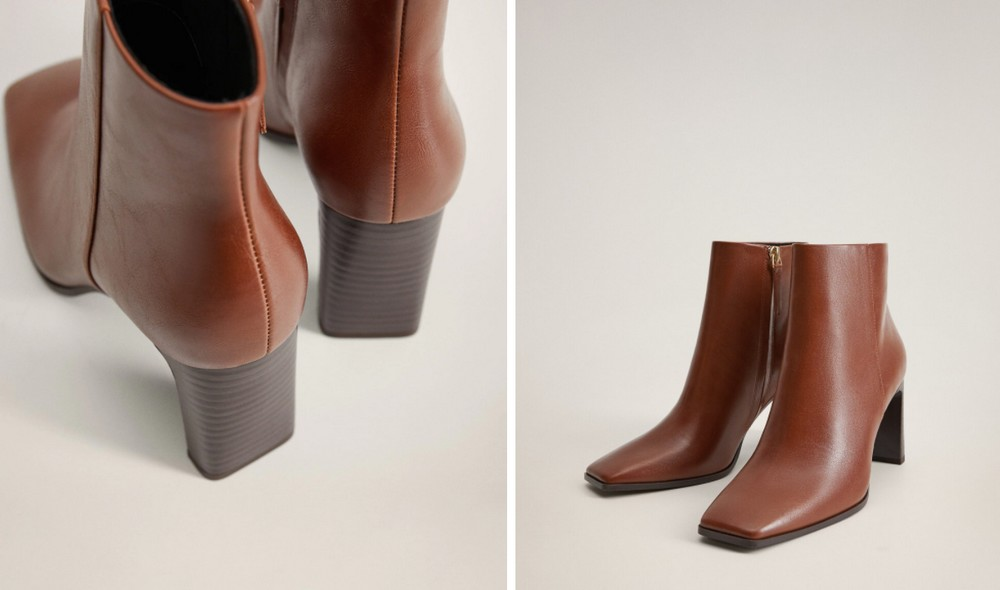 Bottines-retro-talon-carre-marron